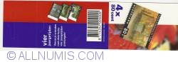 Booklet 4 x 80 Cents 4 Seasons 1999 - Haarlemmerhout in Fall