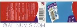 Booklet 5 x 1,65 Cent - 0,75 Euro 2001
