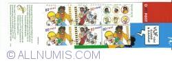 Booklet 5 x 80 Cents 2000 - Sjors en Sjimmie