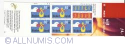 Booklet 5 x 80 Cents 1999 - Birth