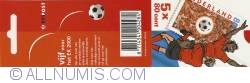Booklet European Championship Soccer 5 x 80 Cent 2000