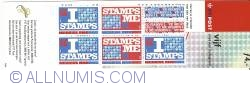 Booklet I Love Stamps 5 x 80 Cent 1999