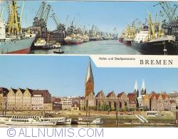 Bremen - Harbour and City Panorama (Hafen und Stadtpanorama) (1968)