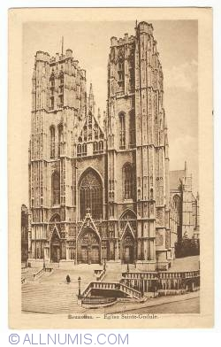 Image #1 of Brussels - Cathedral Ste. Gudula
