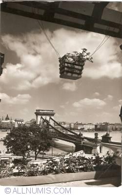 Image #1 of Budapest - Chainbridge (Széchenyi lánchíd) (1962)