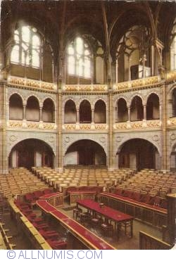 Image #1 of Budapest - Parliament. Council Room for Deputies (1962)
