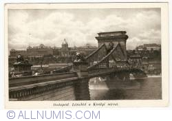 Image #1 of Budapest - Royal Castle with Chain Bridge (1920)