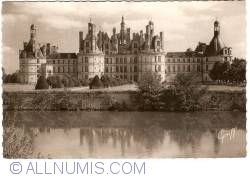 Chambord - Castle. North side (1951)