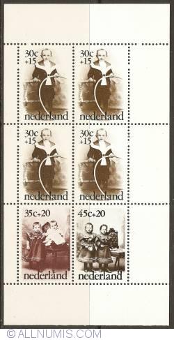 Image #1 of Children Stamps Souvenir Sheet 1974