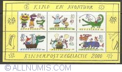 Image #1 of Children's Stamps 2000 Souvenir Sheet