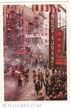 Image #1 of New York - Chinese New Year Celebration in  Chinatown (1982)