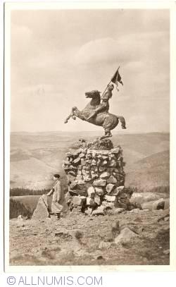 Image #1 of Col du Ballon d'Alsace - Statue of Jeanne d'Arc (1948)