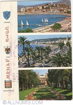 Image #1 of Côte d'Azur - Cannes, Nice, Monte-Carlo (1973)