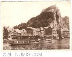 Image #1 of Dinant - Arrival of Tourist Boat (Arrivée du bateaux touriste)