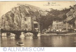 Image #1 of Dinant - Citadel, Church and bridge over the Meuse (Le Citadelle, l'Eglise et le Pont)