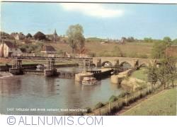 Imaginea #1 a Kent - Est Farleigh și Râul Medway, aproape de Maidstone (1974)