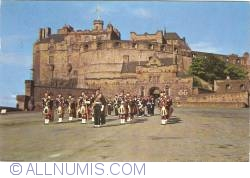 Edinburgh Castle - Highland Pipers on Parade