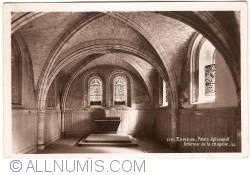 Evreux - Bishop's Palace. Interior of the Chapel (Palais épiscopal. Intérieur de la Chapelle)