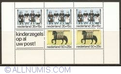 Image #1 of Façade Stones Souvenir Sheet 1975