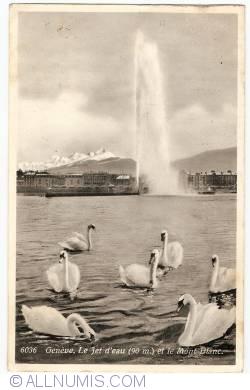 Image #1 of Geneva -  Water Jet and Mont Blanc (Le jet d'eau et Mont Blanc)