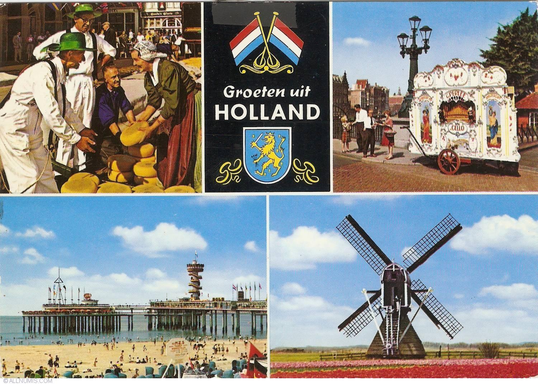 Groeten Uit Holland.Greetings From Holland Groeten Uit Holland 1980 Netherlands
