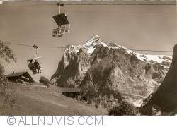 Image #1 of Grindelwald - Cable Lift with Wetterhorn Mountain