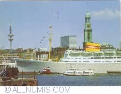 Image #1 of Hamburg - Harbour with MS Oslofjord (1975)