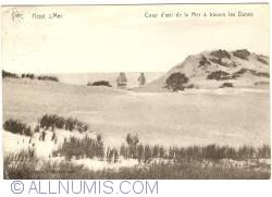 Image #1 of Heist-aan-Zee (Knokke-Heist) - View of the Sea through the Dunes (Coup d'oeil de la Mer à travers les Dunes)