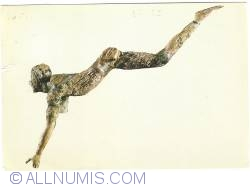 Image #1 of Heraklion - Archaeological Museum - Ivory Acrobat - from Knossos (16th C. B.C.) (1973)