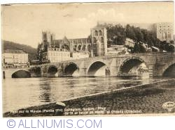 Image #1 of Huy - Meuse Bridge, Collegiale Church and Chestia (Citadel)