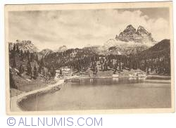 Image #1 of Misurina Lake with Tre Cime di Lavaredo (1937)