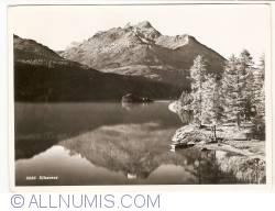 Imaginea #1 a Sils im Engadin/Segl - Lacul Sils (1954)