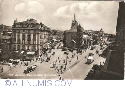 Image #1 of Lausanne - Place and Church of St. Francis (Place et Église St. François)