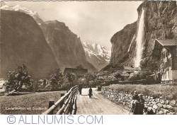 Image #1 of Lauterbrunnen with Staubbach Falls