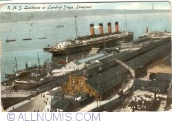 Image #1 of Liverpool - R.M.S. Lusitania at Landing Stage
