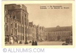 Image #1 of Louvain - Butter Market (now Oude Markt / Old Market Place) (Le Marché au Beurre - De Botermarkt)