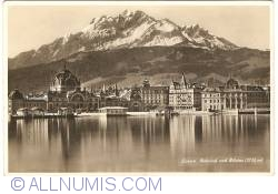 Image #1 of Lucerne - Railway Station and Pilatus Mountain (Banhof und Pilatus)