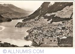 Image #1 of Lungern with Lake Lungern and Mount Pilatus