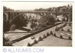 Image #1 of Luxembourg - Pont Adolphe (1953)
