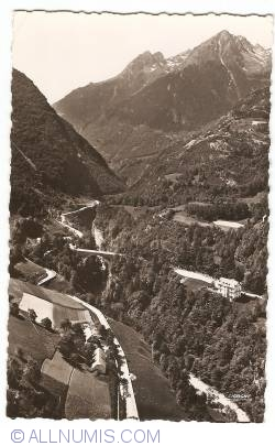 Luz-Saint-Sauveur - From Luz-Saint-Sauveur to Gavarnie: the Gorges and Napoleon Bridge (1953)
