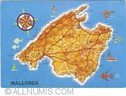 Image #1 of Mallorca - Map (1978)