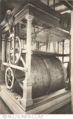 Image #1 of Mechelen - Clock of the St. Rombauts Tower. Big drum
