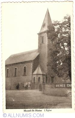 Image #1 of Mesnil-Saint-Blaise - The Church (L'Église) (1942)