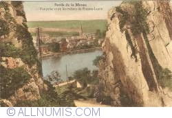 Image #1 of Meuse Riverside - View between the rocks of Fresnes-Lustin (Profondeville)  (1938)
