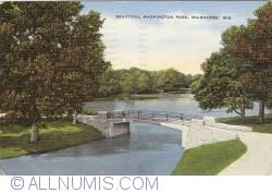 Image #1 of Milwaukee, Wisconsin - Washington Park (1951)