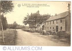 Image #1 of Mont-Rigi (near Baraque Michel) - Bifurcation of the Roads to Elsenborn and Malmedy (1923)