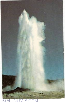 Image #1 of Yellowstone - Old Faithful Geyser (1968)
