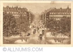 Image #1 of Paris - Avenue de l'Opéra and Place du Théâtre Français (1929)