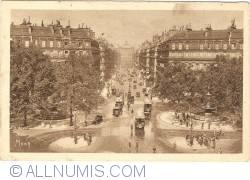 Imaginea #1 a Paris - Bulevardul Operei şi Place du Théâtre Français (1929)