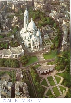 Image #1 of Paris - Basilica of the Sacred Heart (Basilique du Sacré-Coeur) (1966)